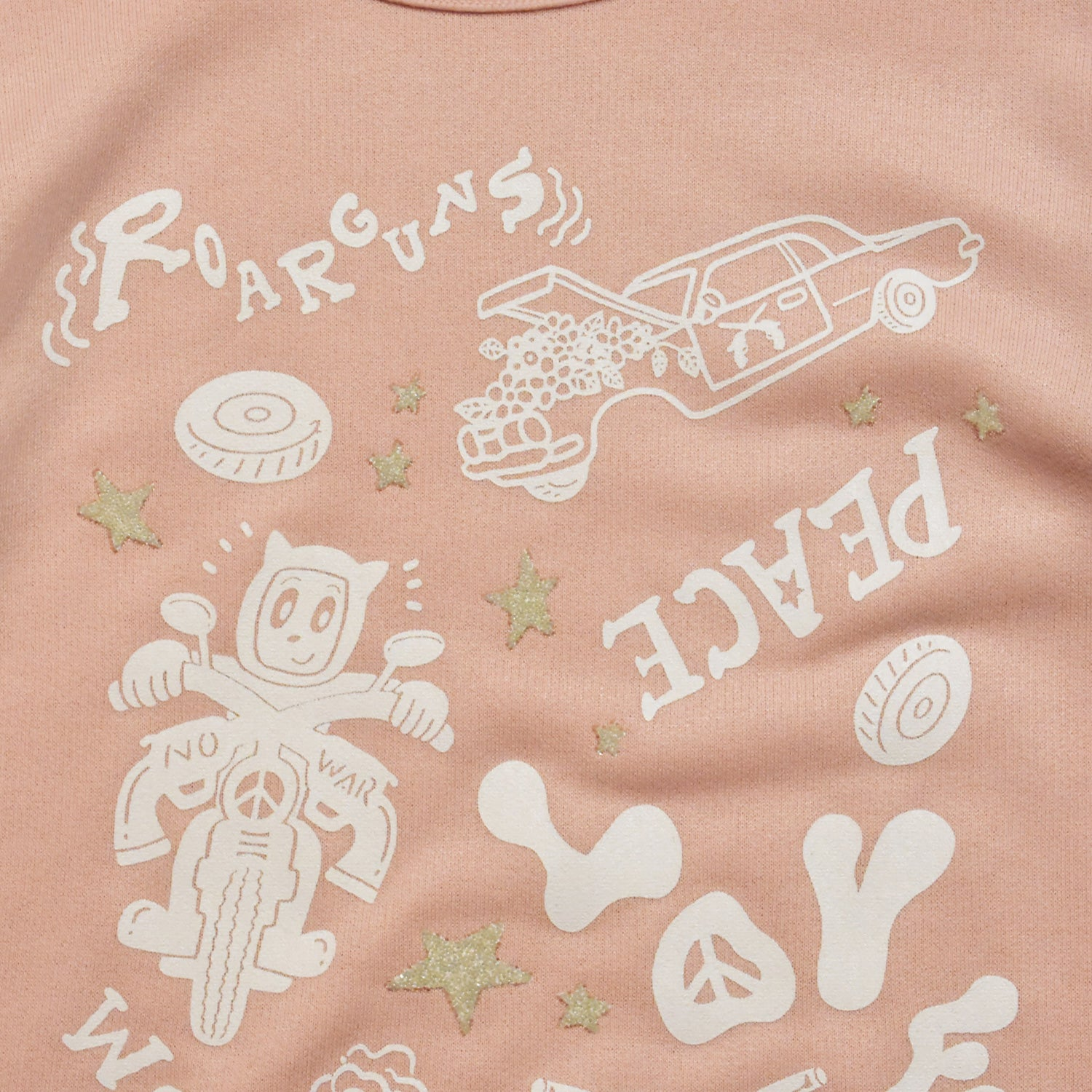 Load image into Gallery viewer, × CHOCOMOO KIDS T GRAPHIC / PINK