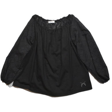 LORN CHECK EMBROIDERY SHIRT