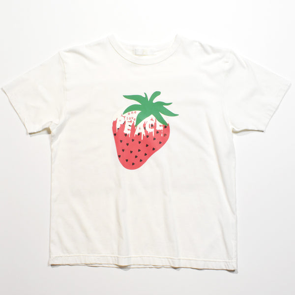 WOMAN PEACE BERRY T / WHITE