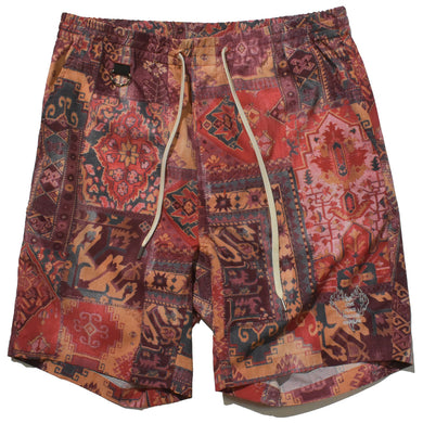 AIR DOTS MOROCCAN RUG PANTS / RED