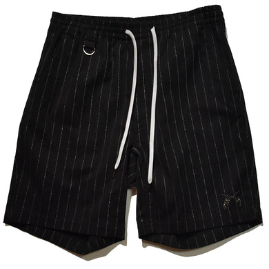 RAME STRIPE PANTS / BLACK