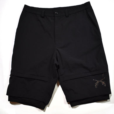 NYLON OX × TEXBRID® SHORTS / BLACK