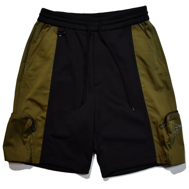 CORDURA BACK SATIN SHORTS / KHAKI