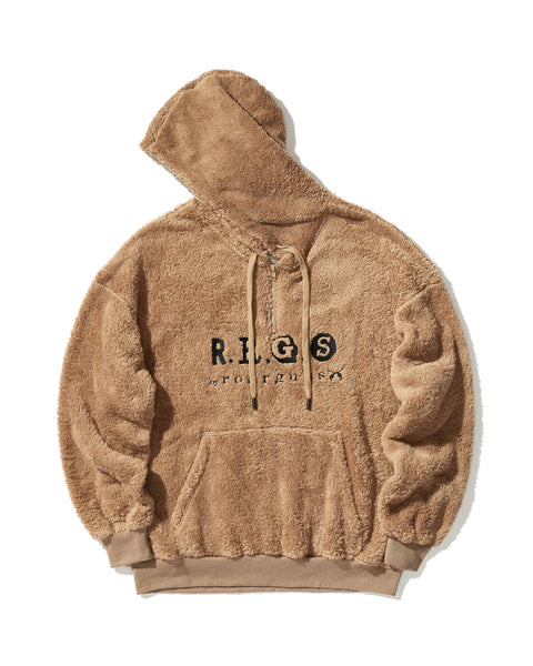 R.R.G.S LOGO EMBROIDERY PILE HOODIE