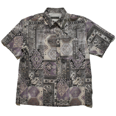 AIR DOTS MOROCCAN RUG SHIRT / PURPLE