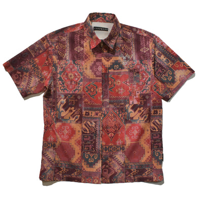 AIR DOTS MOROCCAN RUG SHIRT / RED