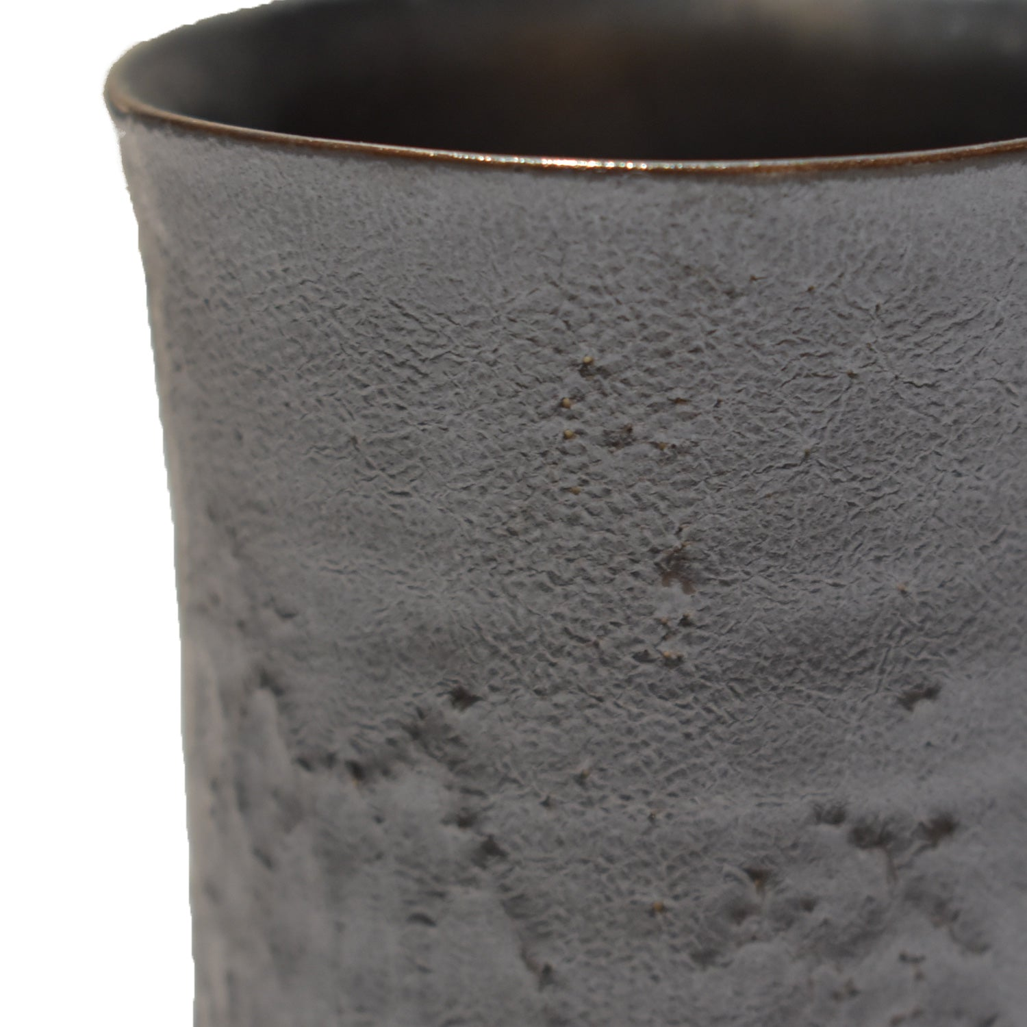 Load image into Gallery viewer, SHIRO HAMANAKA CERAMIC CUP LEATHER LACE