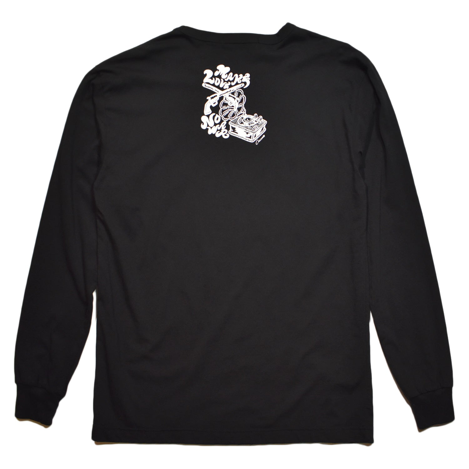 Load image into Gallery viewer, × CHOCOMOO  L/S T BIKE / BLACK