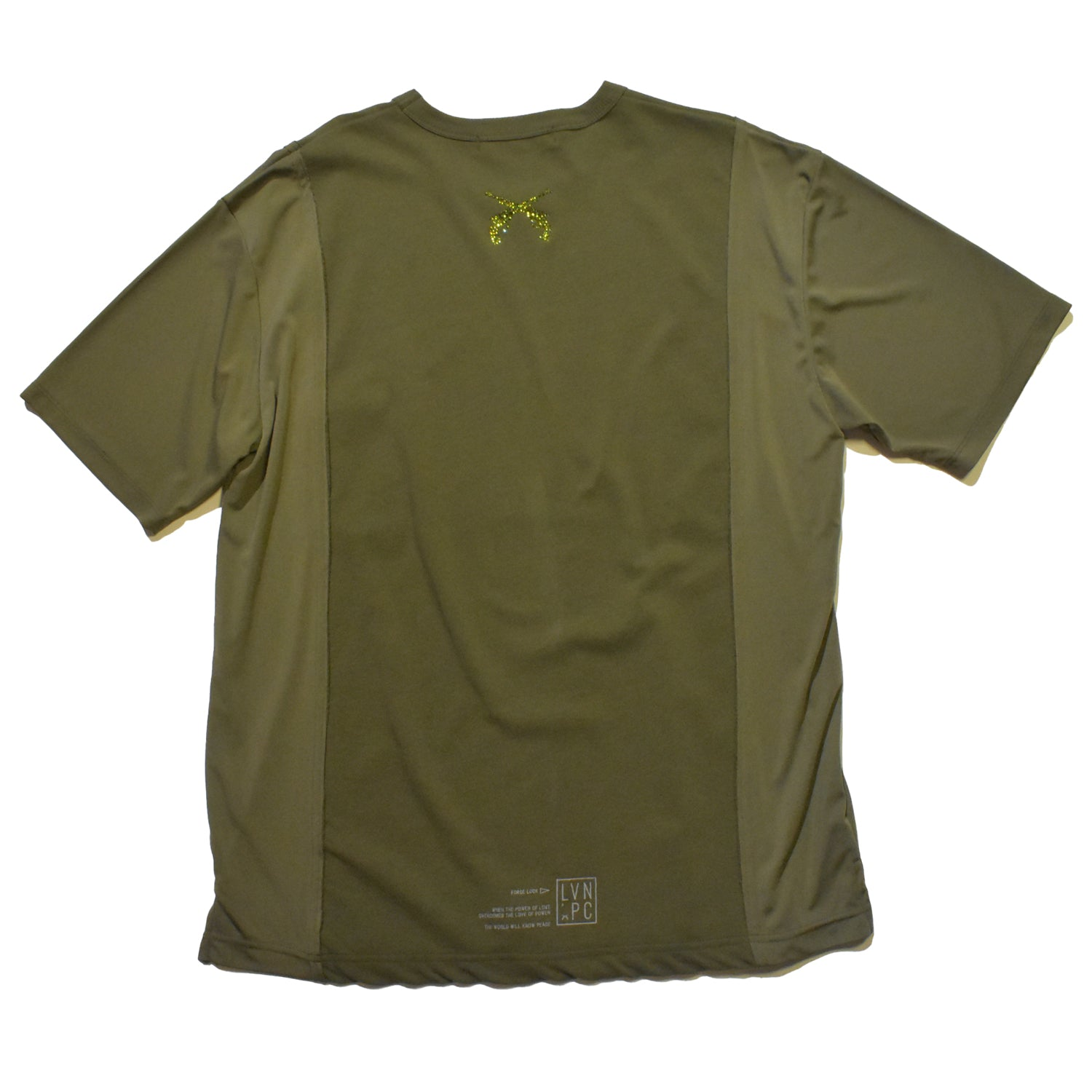 将图片加载到图库查看器,VINTAGE TWILL × TRIACETATE POCKET T / KHAKI