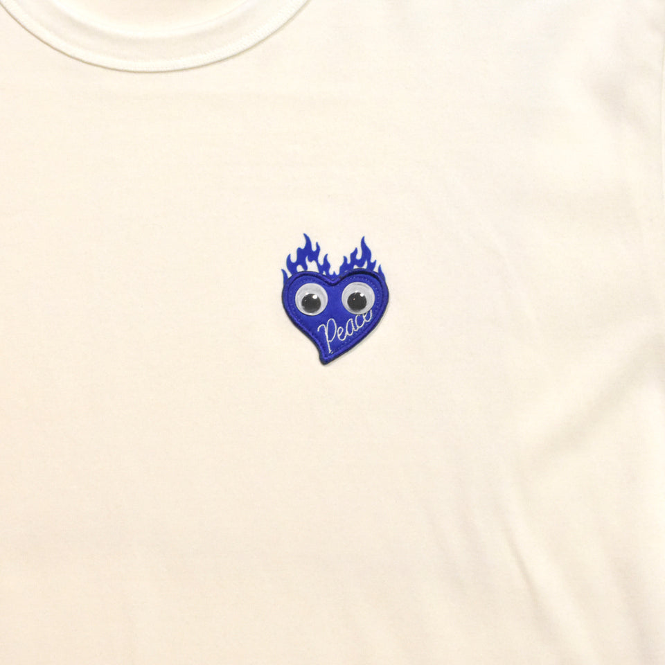 Load image into Gallery viewer, GOOGLY EYES T / WHITE