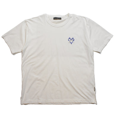 FIRE HEART SWAROVSKI CROSSGUN T / WHITE