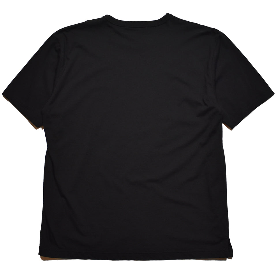 Load image into Gallery viewer, FIRE HEART OPAL PRINT OVERSIZE T / BLACK