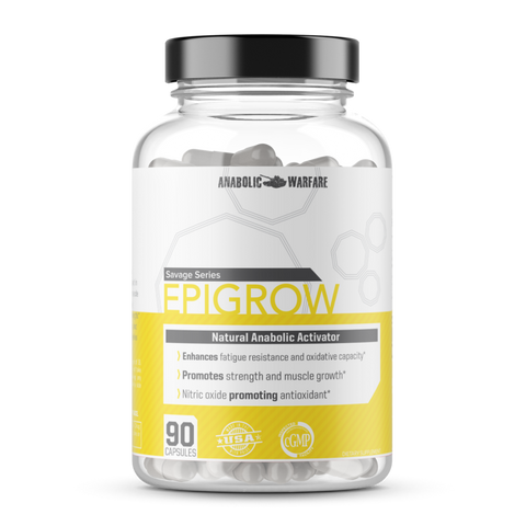 Epigrow - Natrual Muscle Builder For Men and Women - West Coast Supplements Washington