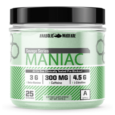MANIAC - West Coast Supplements Washington