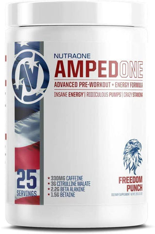AmpedOne Pre Workout Powder - West Coast Supplements Washington