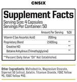 CNSix Creatine - West Coast Supplements Washington
