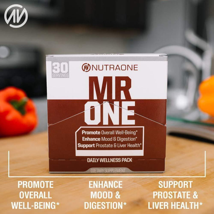MrOne Daily Vitamin Packs for Men - West Coast Supplements