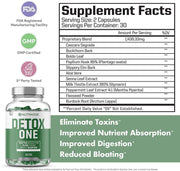 DetoxOne Natural Detox - West Coast Supplements