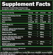 ALPHALION SUPERHUMAN PUMP - West Coast Supplements