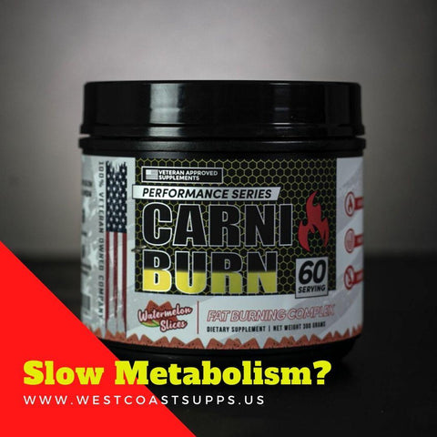 CARNIBURN Non-Stim Fat Loss Aid - West Coast Supplements Washington