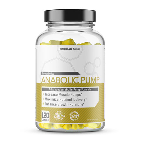 Anabolic Pump - Natrual Muscle Builder For Men and Women - West Coast Supplements Washington