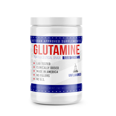 Pure L- Glutamine Veteran Approved - West Coast Supplements Washington