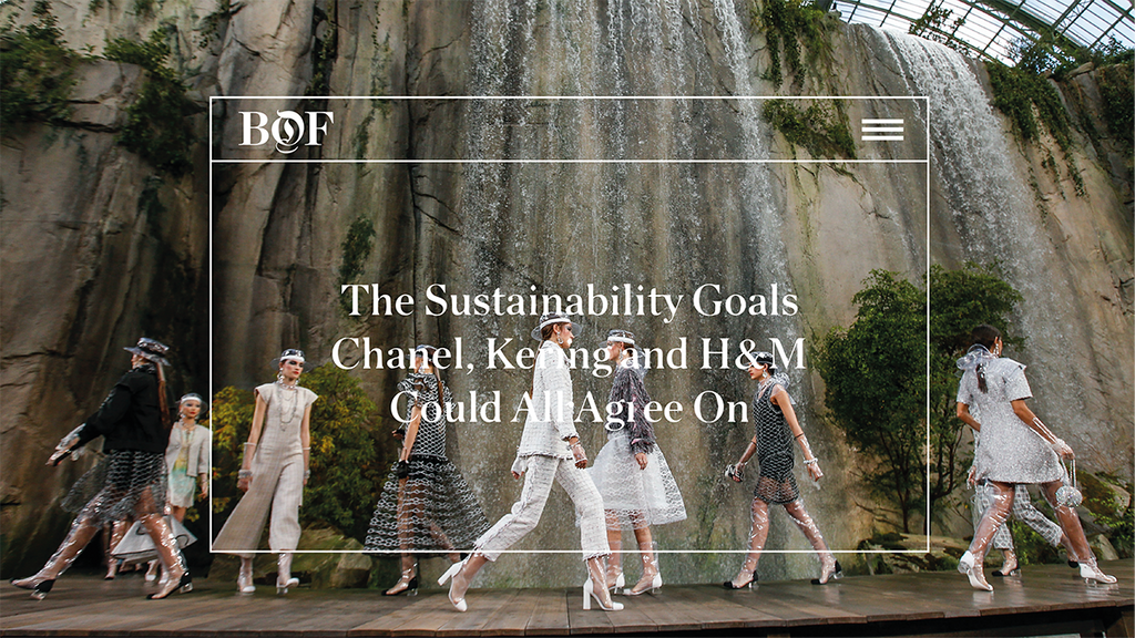 Sustainability Goals Chanel, Kering and H&M Could All Agree On