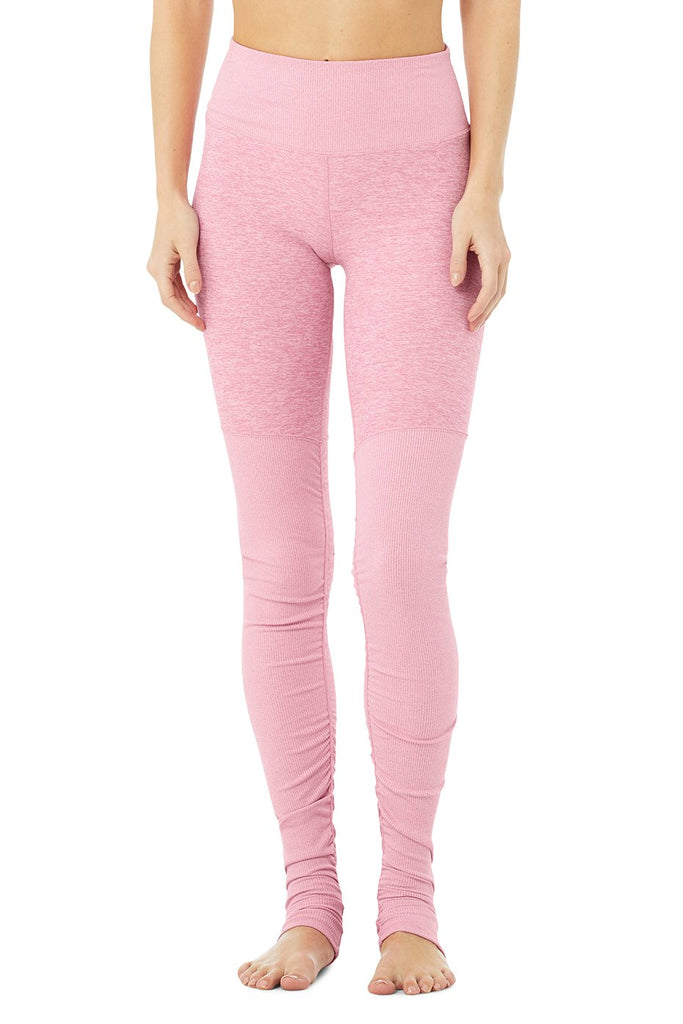 alo yoga leggings pink legging