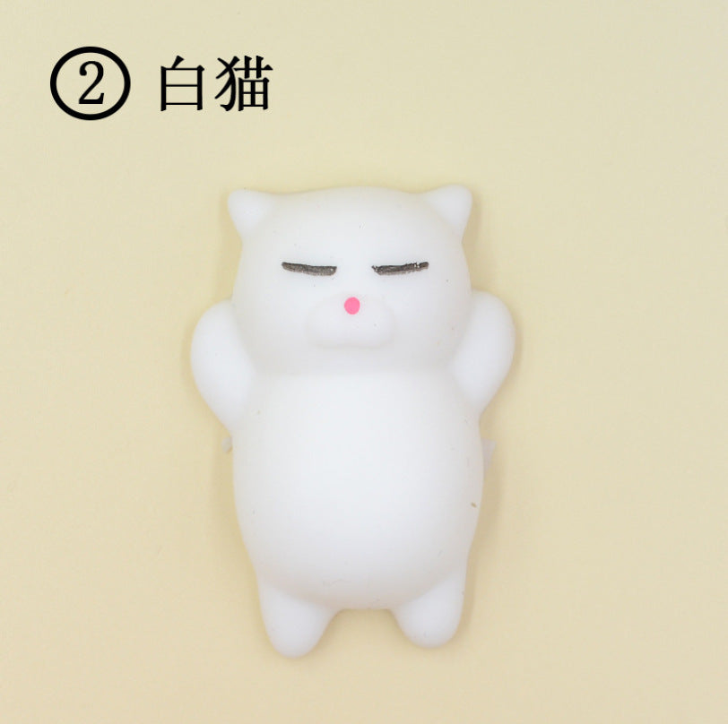 Novelty hot selling creative toys small animals cute pet seals juvenile small group whole person venting decompression squeeze