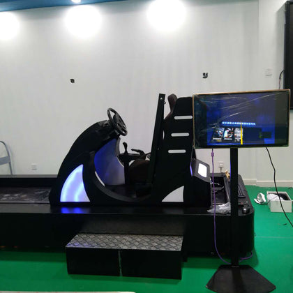 Vr traffic safety VR track simulation collision vehicle vr car driving equipment VR simulation car collision