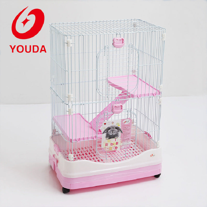 Wholesale Customized Pet Cage Luxury Rabbit Cage Large Rabbit Cage T8-1 Pet Cage Rabbit Cage