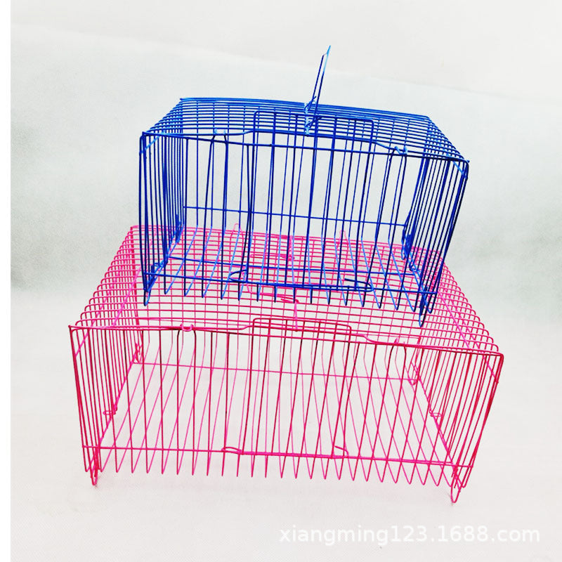 Wholesale big pillow cage Rabbit cage small pet transport cage small portable cage Size pillow cage Small rabbit cage Small bird cage
