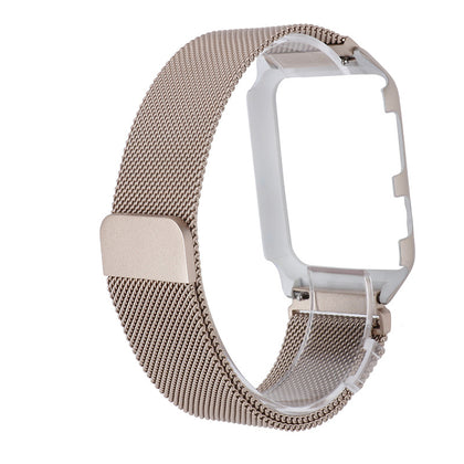 Applicable for Apple 3 representative with protective case integrated 38mm42mm Milan stainless steel watch watch case