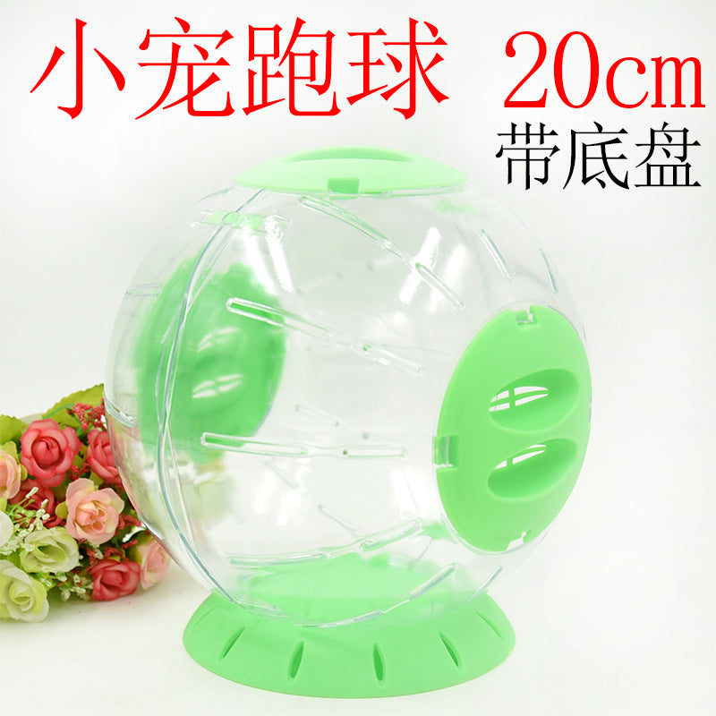 Hamster pet toy toy Crystal running ball 20cm Hamster running ball bear toy