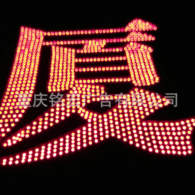Factory direct LED signboard roof big word flat light word quality guaranteed