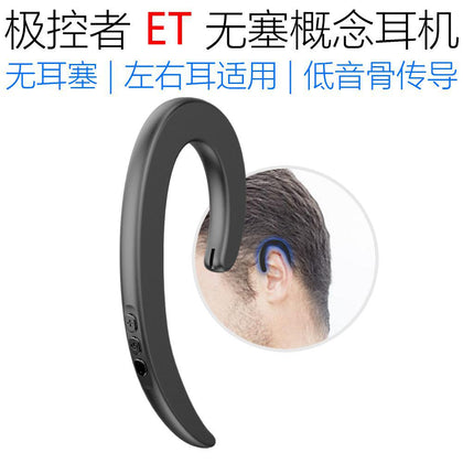 ET no plug concept headset smart headset Bluetooth wireless sports headset syllabled900ptwsg1