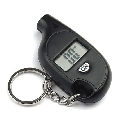 Mini barometer digital display pressure math tire pressure gauge tire table
