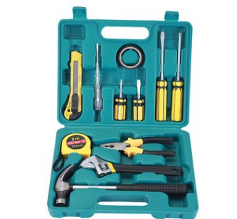 12 Piece Home Car Insurance Gift Combination Set Hardware Toolbox Repair Combination Tool Set 12P