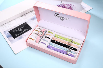 2019 foreign trade hot-selling watches European and American student watches female waterproof gift box set manufacturers watch