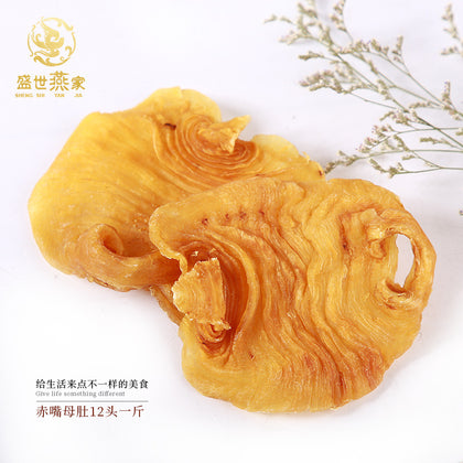 Guangdong specialty red mouth gel red mouth mother belly fish gel dry goods Huajiao 500g with hand gift distribution wholesale