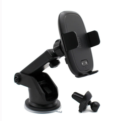 Factory direct intelligent induction 360 rotation retractable without electric suction cup mobile phone holder to send air outlet clip