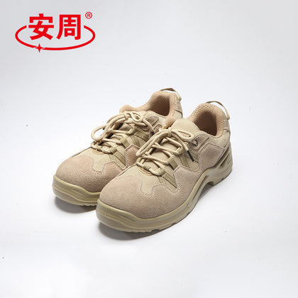 A generation of labor insurance shoes men's breathable protective shoes anti-smashing anti-piercing foot labor insurance shoes steel Baotou anti-static shoes