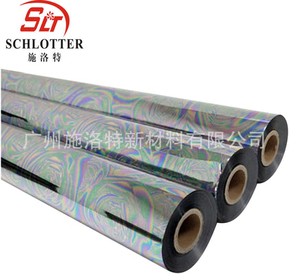 Factory direct cloth gilt paper illusion hot stamping paper aluminum aluminum washable style constantly updated