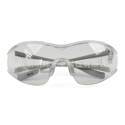 Spot Wholesale DELTA Delta Tower EGON CLEAR Fashion Safety Glasses Transparent Anti-fog 101128