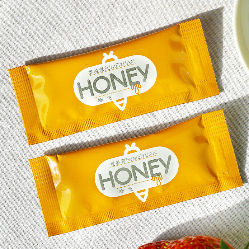【Factory direct sales】Natural strip portable small bag with honey strips independent small package honey OEM OEM