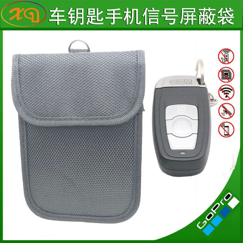 Supply shielding bag pregnant women anti-electromagnetic radiation business signal shielding bag shielding car key anti-theft bag