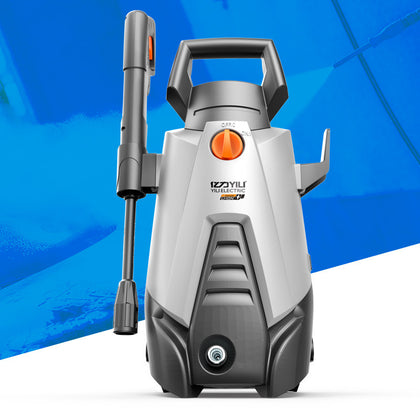 Yili high pressure car washing machine portable rechargeable lithium battery car washer automatic cleaning machine car brush pump water gun
