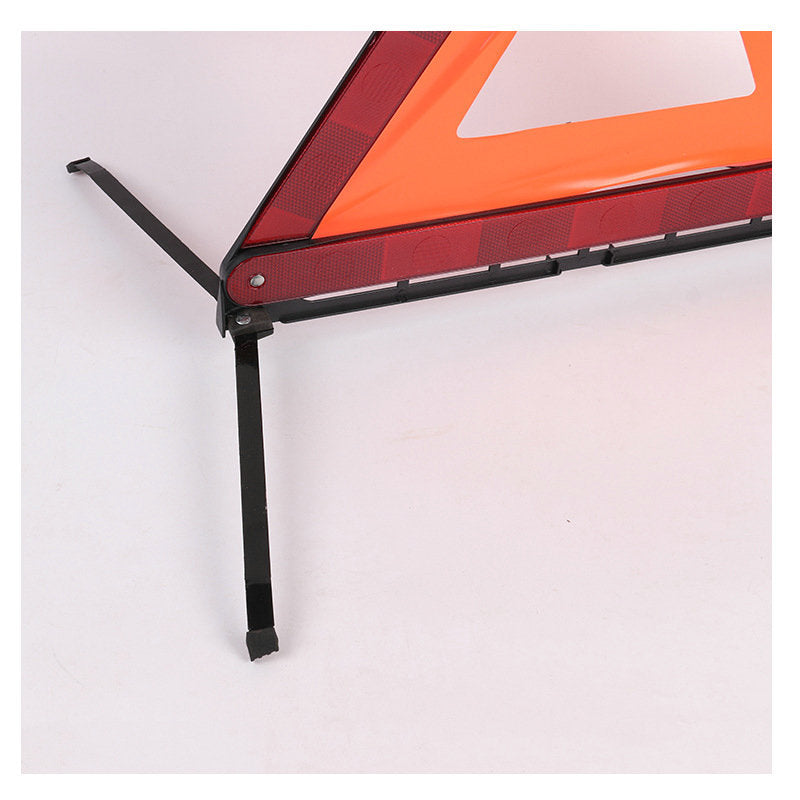 Triangular parking warning frame for vehicles, vehicle emergency response sign, tripod, car triangle warning sign