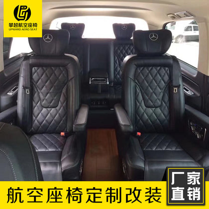 Business car Mercedes Benz Deterrence V260 Viano Electric air seat factory custom