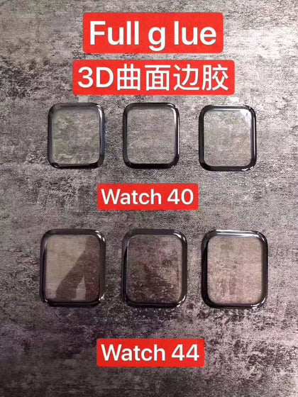 3D film semi-full glue suitable for Apple Watch S2 / 3 generation full screen tempered film S45 generation iwatch fiber soft film S5